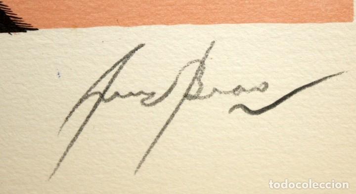 Arte: EDUARD ARRANZ BRAVO (BARCELONA, 1961) LITOGRAFIA ORIGINAL FIRMADA A LÁPIZ. TIRAJE: 49/125 - Foto 5 - 174432208