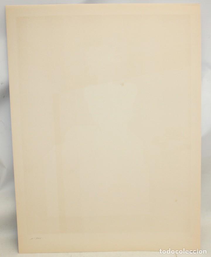 Arte: EDUARD ARRANZ BRAVO (BARCELONA, 1961) LITOGRAFIA ORIGINAL FIRMADA A LÁPIZ. TIRAJE: 49/125 - Foto 7 - 174432263