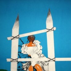 Arte: RAFAEL BARTOLOZZI (NAVARRA, 1943 - VESPELLA, 2009) LITOGRAFIA FIRMADA A LÁPIZ. TIRAJE: 49/125. Lote 174432510