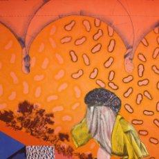 Arte: RAFAEL BARTOLOZZI (NAVARRA, 1943 - VESPELLA, 2009) LITOGRAFIA FIRMADA A LÁPIZ. TIRAJE: 49/125. Lote 174432690