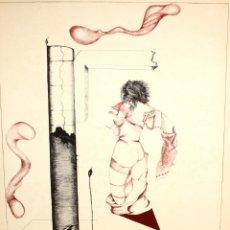 Arte: GRANOLLERS, FULLA BAIXA X FRANCESC PARCERISAS. LITOGRAFIA DE ARRANZ BRAVO Y BARTOLOZZI. 49/125. Lote 174433328