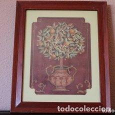 Arte: LITOGRAFIA DE LA PINTORA TINA CHADEN TITULO ORANGE TREE. Lote 174570340