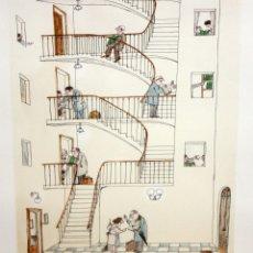Arte: FRANCESC VILA RUFAS (CESC) (BARCELONA, 1927 - 2006) LITOGRAFIA ORIG. FIRMADA A LÁPIZ. TIRAJE: 9/100. Lote 174579540