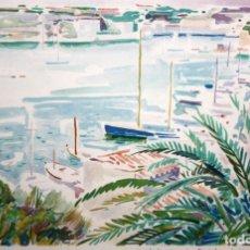 Arte: JOSEP SERRA LLIMONA (L'AMETLLA DEL VALLÈS, 1927) LITOGRAFIA FIRMADA A LAPIZ. TIRAJE: 5/150. Lote 174983300