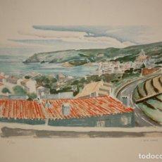 Arte: JOSEP SERRA LLIMONA (L'AMETLLA DEL VALLÈS, 1927) LITOGRAFIA FIRMADA A LAPIZ. TIRAJE: 25/100. Lote 174990270