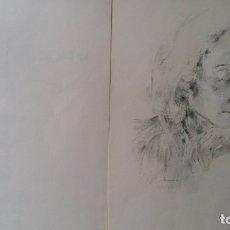 Arte: FRITZ BUSSE: PORTFOLIO CON 7 LITOGRAFÍAS FIRMADAS A MANO, NUMERADO, 1947. Lote 175322115