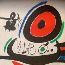 """Art: MIRÓ, JOAN. """"OSAKA"""" 1970. 76X58 CM. LITOGRAFÍA.. Lote 175351323"""