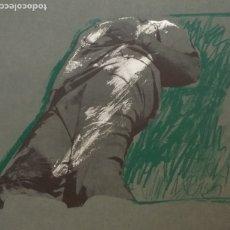 Arte: RAFAEL CANOGAR, FIGURA EN LA HIERBA, DE 1975. Lote 175445718