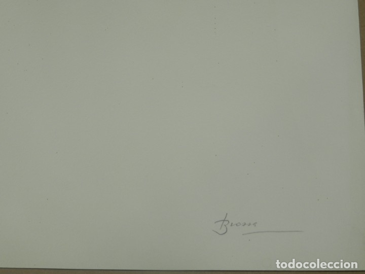 Arte: (M) Litografia Joan Brossa, Lletra A Poema Visual, P.A. IV/V, 50x38 cm, Buen Estado - Foto 4 - 175481292