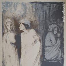 Arte: MONTSERRAT GUDIOL, LITOGRAFIA. Lote 175580303