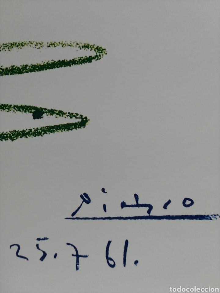 Arte: PABLO PICASSO, La Ronde de la Jeunesse 1961 - GALERIE L ART ET LA PAIX. LAMINA LITOGRAFÍA ORIGINAL - Foto 4 - 194534701