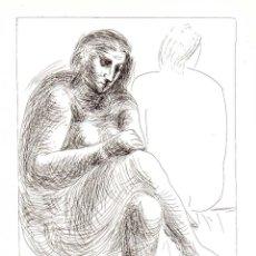 Arte: PABLO PICASSO - SUITE VOLLARD - ED. HATJE 1956. Lote 175975735