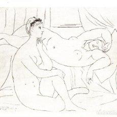 Arte: PABLO PICASSO - SUITE VOLLARD - ED. HATJE 1956. Lote 175976035