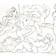Arte: PABLO PICASSO - SUITE VOLLARD - ED. HATJE 1956. Lote 175976312