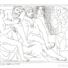 Arte: PABLO PICASSO - SUITE VOLLARD - ED. HATJE 1956. Lote 175989844
