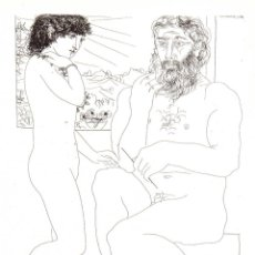 Arte: PABLO PICASSO - SUITE VOLLARD - ED. HATJE 1956. Lote 175990479