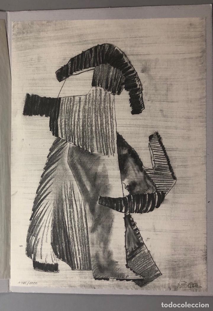 FRANCISCO LEIRO. EDICIÓN LIMITADA Y NUMERADA. GALERÍA DE ARTE CONTEMPORÁNEO. (Arte - Litografías)