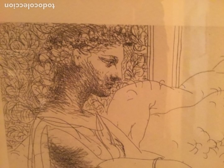 Arte: Picasso suite vollard, Lamina enmarcada. - Foto 7 - 176283334