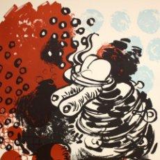 Arte: XAVIER GRAU MASIP (BARCELONA, 1951) LITOGRAFIA ORIGINAL FIRMADA A LÁPIZ. TIRAJE: XVI/XCIX. Lote 176647115