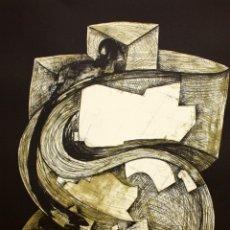 Arte: EDUARD ARRANZ BRAVO (BARCELONA, 1961) LITOGRAFIA ORIGINAL FIRMADA A LÁPIZ. TIRAJE: XVI/XCIX. Lote 176647340