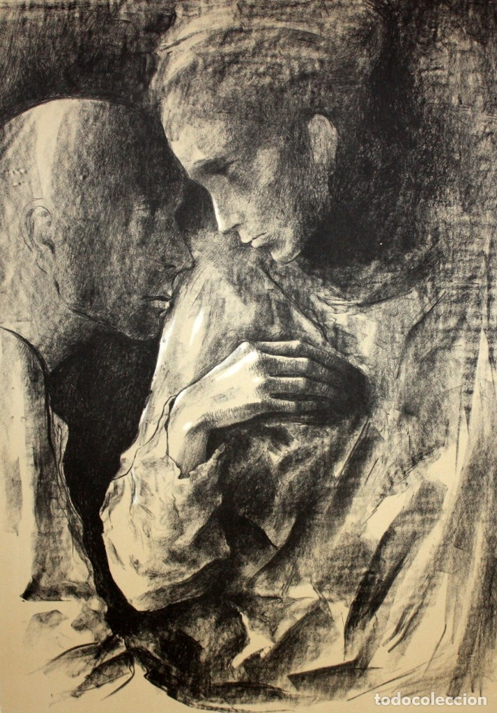MONTSERRAT GUDIOL COROMINAS (1933 - 2015) LITOGRAFIA ORIGINAL FIRMADA A LÁPIZ. TIRAJE: XVI/XCIX (Arte - Litografías)