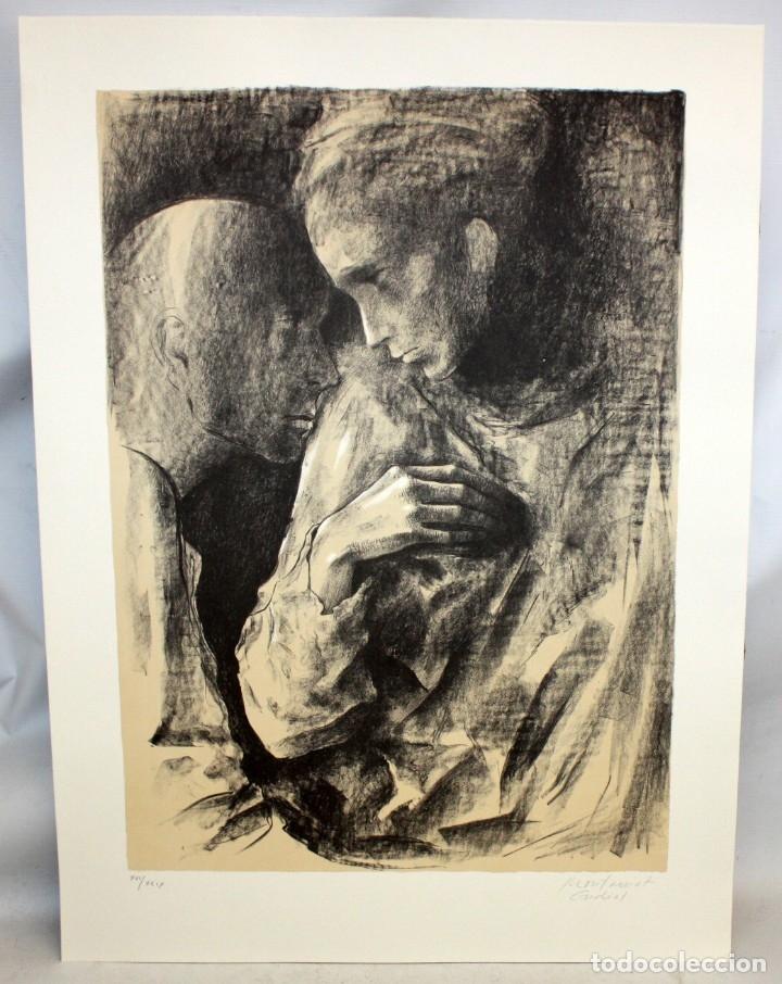 Arte: MONTSERRAT GUDIOL COROMINAS (1933 - 2015) LITOGRAFIA ORIGINAL FIRMADA A LÁPIZ. TIRAJE: XVI/XCIX - Foto 2 - 176648174