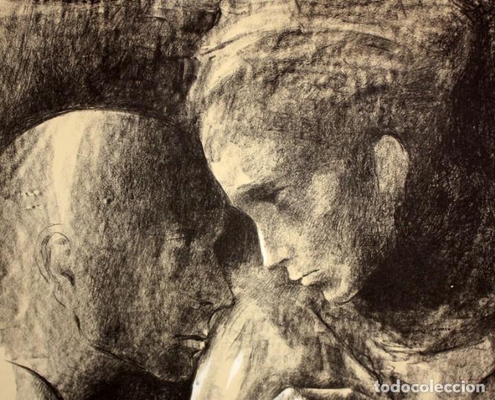 Arte: MONTSERRAT GUDIOL COROMINAS (1933 - 2015) LITOGRAFIA ORIGINAL FIRMADA A LÁPIZ. TIRAJE: XVI/XCIX - Foto 3 - 176648174