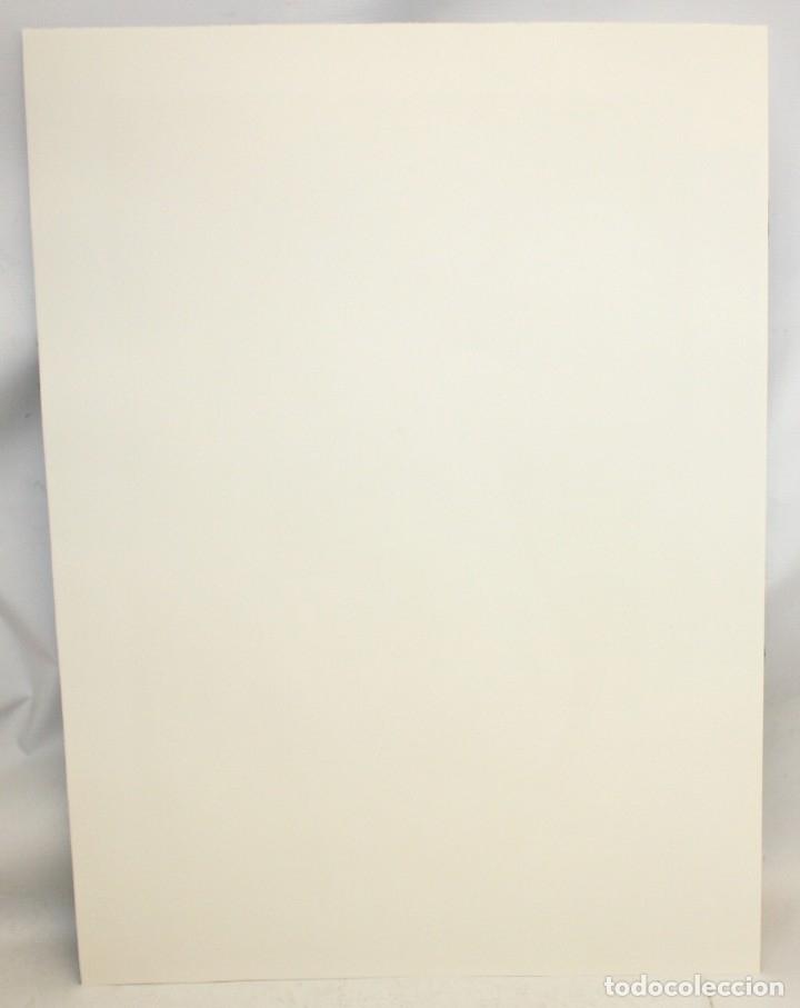 Arte: MONTSERRAT GUDIOL COROMINAS (1933 - 2015) LITOGRAFIA ORIGINAL FIRMADA A LÁPIZ. TIRAJE: XVI/XCIX - Foto 6 - 176648174