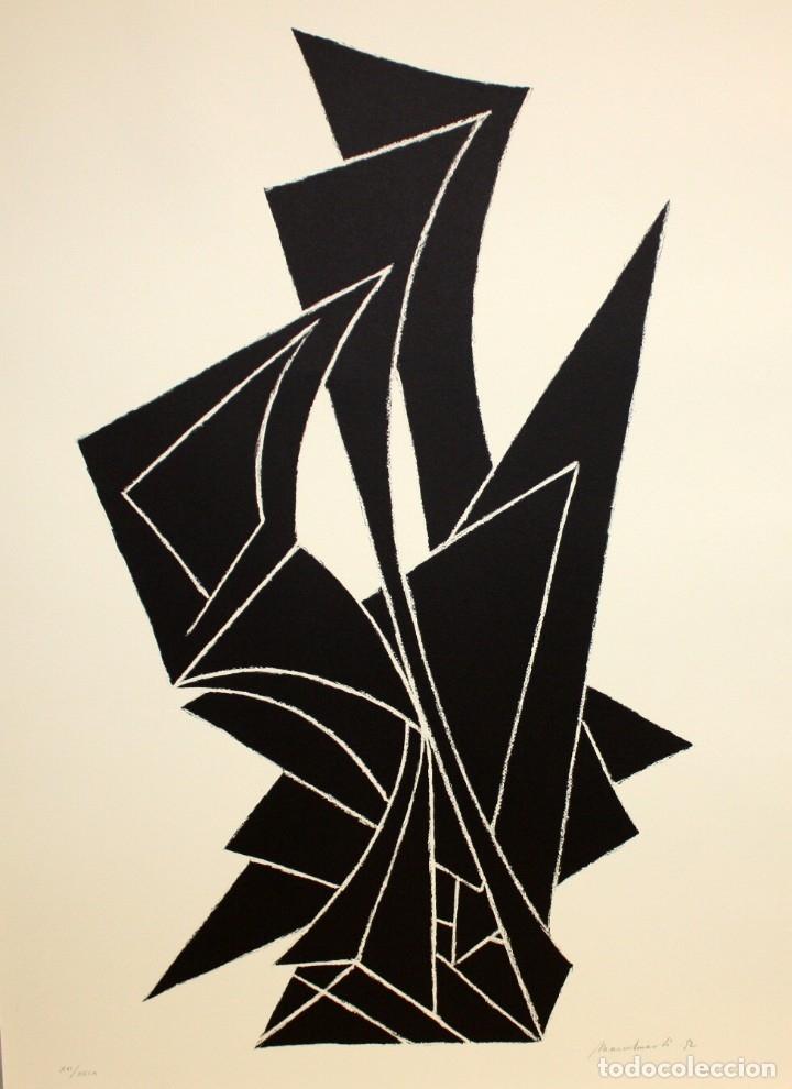 MARÇEL MARTI (1925 - 2010) LITOGRAFIA ORIGINAL FIRMADA A LÁPIZ. TIRAJE: XVI/XCIX (Arte - Litografías)