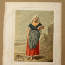 Arte: CROMOLITOGRAFIA CATALANA. PROVINCIA DE LERIDA. AÑO 1873. Lote 176902757