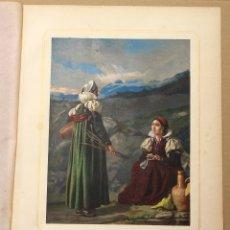 Arte: CROMOLITOGRAFIA VALLES DE HECHO Y ANSÓ. PROVINCIA DE HUESCA. AÑO 1873. Lote 176902919