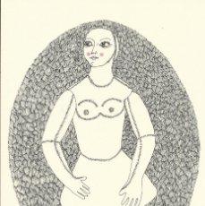 Arte: VICENÇ CARALTÓ. LITOGRAFÍA NUMERADA 291/500. FIRMADA A MANO. 1979. 20X14 CM. BUEN ESTADO.. Lote 177577170