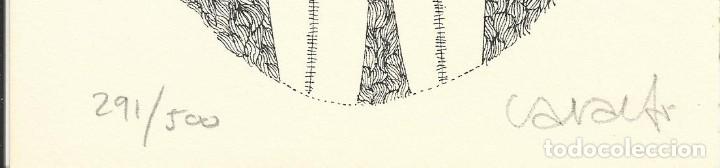 Arte: Vicenç Caraltó. Litografía numerada 291/500. Firmada a mano. 1979. 20x14 cm. Buen estado. - Foto 2 - 177577170