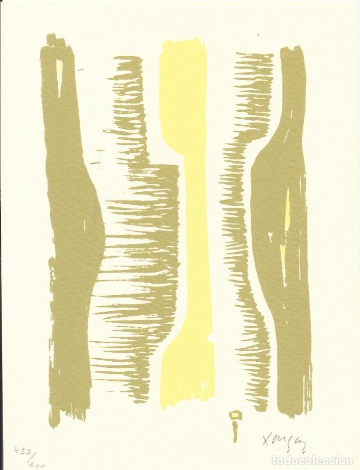 EMÍLIA XARGAY. LITOGRAFÍA NUMERADA 422/500. FIRMADA A MANO. 1978. 21X15 CM. BUEN ESTADO. (Arte - Litografías)