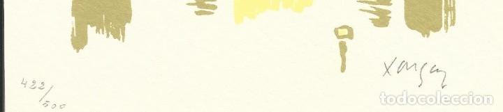 Arte: Emília Xargay. Litografía numerada 422/500. Firmada a mano. 1978. 21x15 cm. Buen estado. - Foto 2 - 177577792