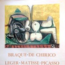 Arte: PICASSO, P. (1881-1973). MAGNIFICO CARTEL EXPOSICION 1967. LIMITADA 1000 EJ. CZW 251/296.. Lote 177618314