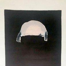 Arte: TAPIES, A. (1923-2012). LITOGRAFIA. FIRMADA A MANO. NUMERADA 27/100. AÑO 1969. GALFETTI 215.. Lote 177664784