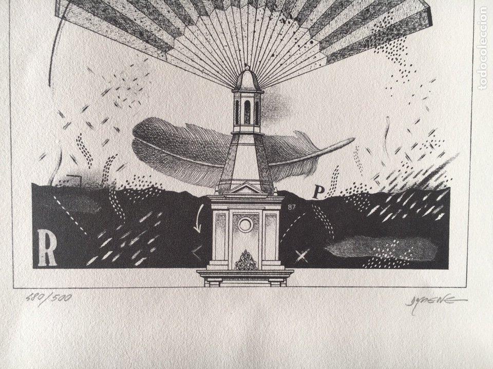 Arte: LITOGRAFÍA KIM DOMENE, NUMERADA Y FIRMADA - Foto 2 - 178220646