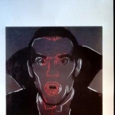 Arte: LITOGRAFÌA ANDY WARHOL [D'APRES] LITOGRAFIA - DRACULA - 1986? EDICION Nº 4705/5000 42,9 X 34,9 CMS. Lote 178247742