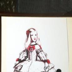 Arte: LITOGRAFIA DE - ANTONIO DE FELIPE - MARGARITA CON MICKEY - EDICION LIMITADA DE 50 LA Nº 10. TAMAÑO 3. Lote 178250207