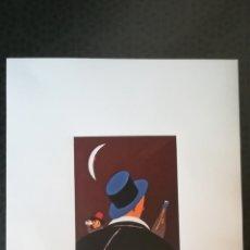 Arte: EDUARDO ARROYO-NIGHT OWLS- LITOGRAFIA ORIGINAL FIRMADA A MANO-1985- Nº 48 DE 60 COPIAS TAMAÑO 40X30 . Lote 178317133