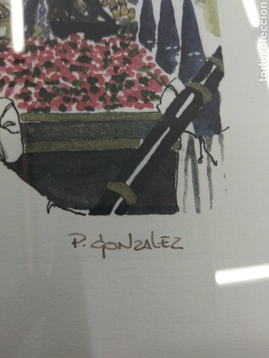 Arte: COFRADIA DE NUESTRA SRA DE LA PIEDAD Y DEL SANTO SEPULCRO SAN NICOLAS ZARAGOZA P. GONZALEZ NUMERADA - Foto 3 - 178601441