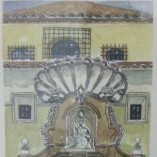 Arte: COFRADIA DE NUESTRA SRA DE LA PIEDAD Y DEL SANTO SEPULCRO SAN NICOLAS ZARAGOZA P. GONZALEZ NUMERADA. Lote 178601441
