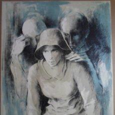 Arte: MONTSERRAT GUDIOL (BARCELONA 1933-2015) LITOGRAFÍA DE 56X76CMS FIRMADA Y HC EN PERFECTO ESTADO. Lote 178645050
