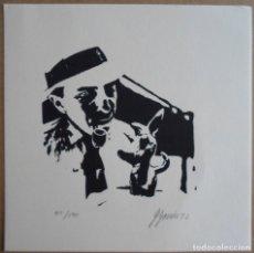 Arte: JOAQUIM GOMIS SERDAÑONS (BARCELONA 1902 - 1991) LITO 1972 DE 15X15 FIRMADA Y NUM 41/500. PERFECTA J. Lote 178947976