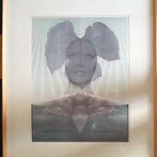 Arte: LITOGRAFÍA FIRMADA ILEGIBLE. NUMERADA.. Lote 179135733