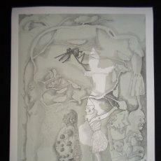 Art: JORGE CASTILLO (PONTEVEDRA, 1933) LITOGRAFÍA 1978 DE 56X76CMS FIRMADO LÁPIZ Y NUM 11/75 PERFECTO.. Lote 179226567