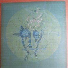Arte: JOAN PONC (BARCELONA 1927-FRANCIA 1984) LITOGRÁFIA COLORES 1977 DE 56X76CMS, FIRMADO LÁPIZ Y 45/99. Lote 179251157
