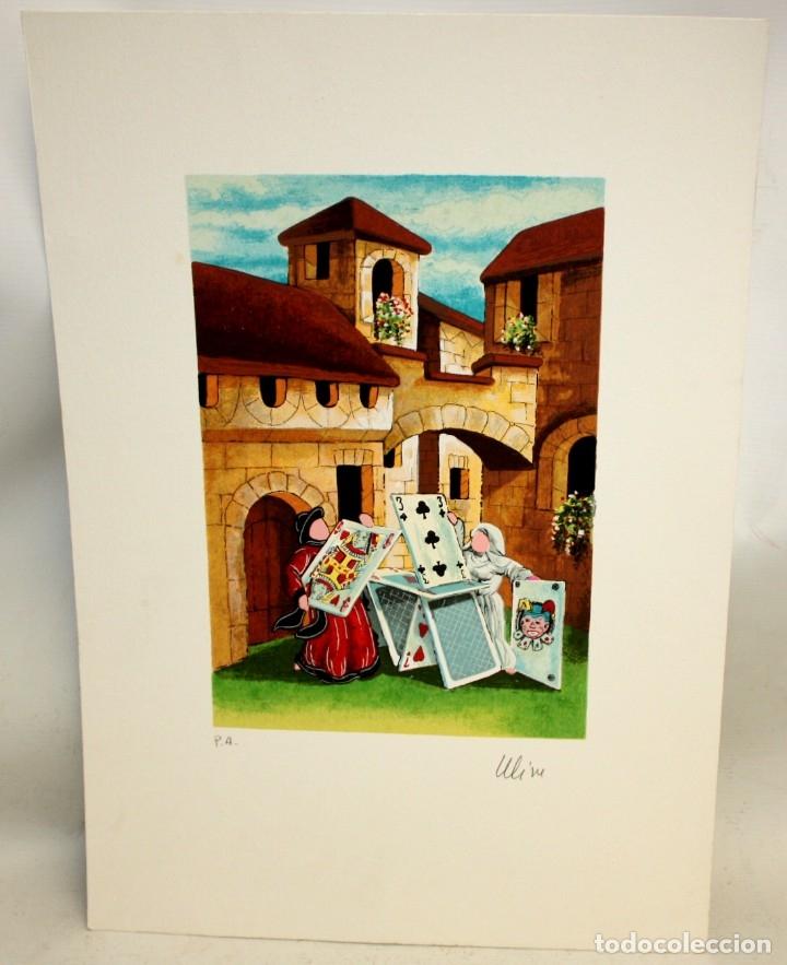 Arte: ROSSANO MASSACCESI -ULISSE- (Osimo, 1957) LITOGRAFIA ORIGINAL FIRMADA A LÁPIZ- TIRAJE P/A - Foto 2 - 180218710
