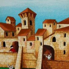 Arte: ROSSANO MASSACCESI -ULISSE- (OSIMO, 1957) SERIGRAFIA FIRMADA A LÁPIZ TITULADA MOËT. TIRAJE P/A. Lote 180218946